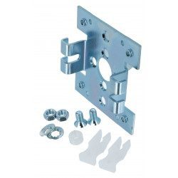 Support moteur Simu double pince 80 x 80 mm