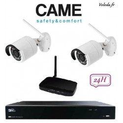 Kit Videosurveillance Came IP Wifi 001FR2276CCTV