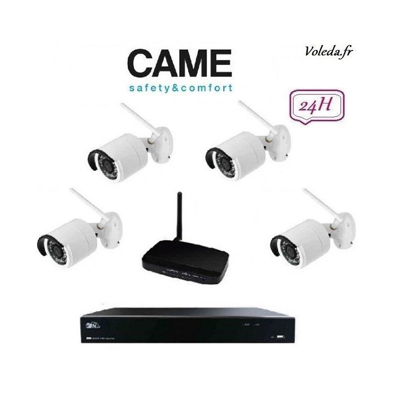 Kit Videosurveillance Came IP Wifi 001FR2276CCTV 4C