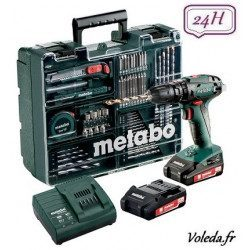 Perceuse à percussion Metabo SB 18 Set 18V 2Ah