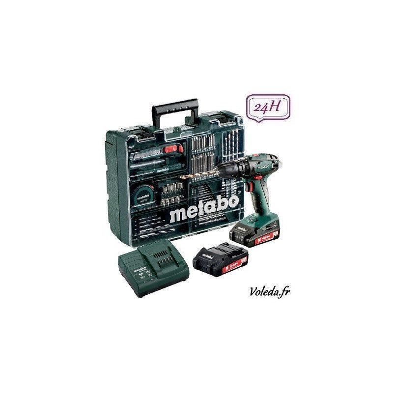 Perceuse à percussion Metabo SB 18 Set 18V 2Ah