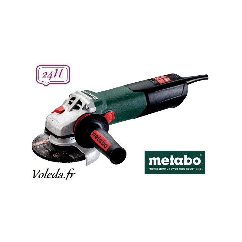 Meuleuse disqueuse Metabo WE 15-125 Quick