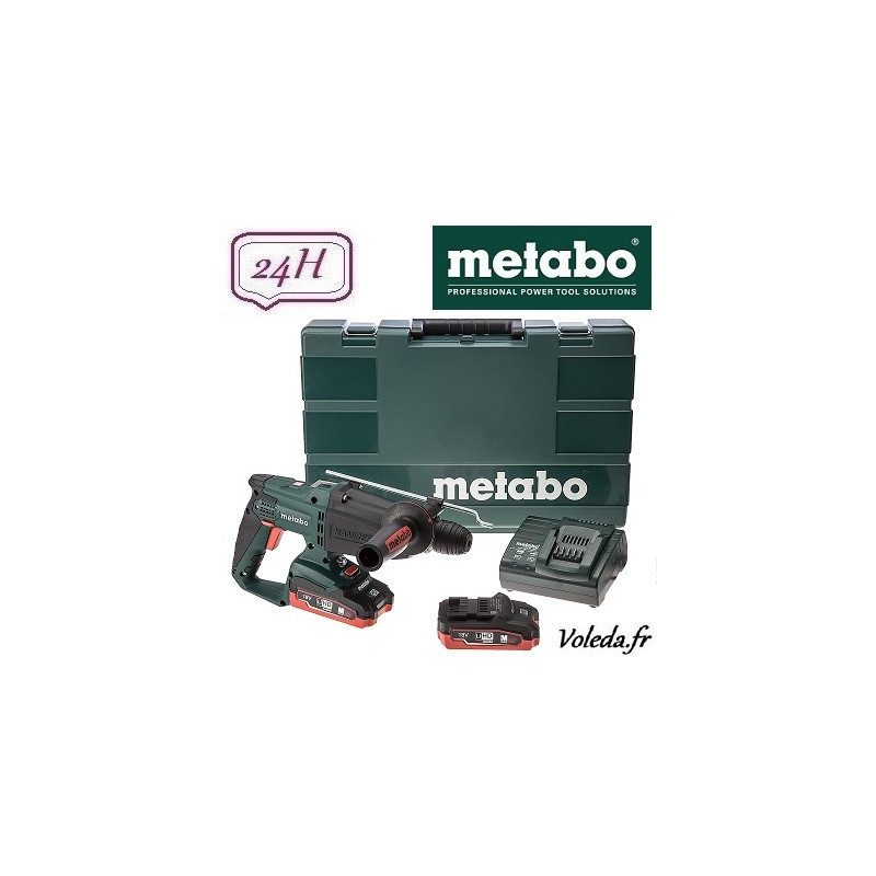 Perforateur burineur Metabo KHA 18 LTX