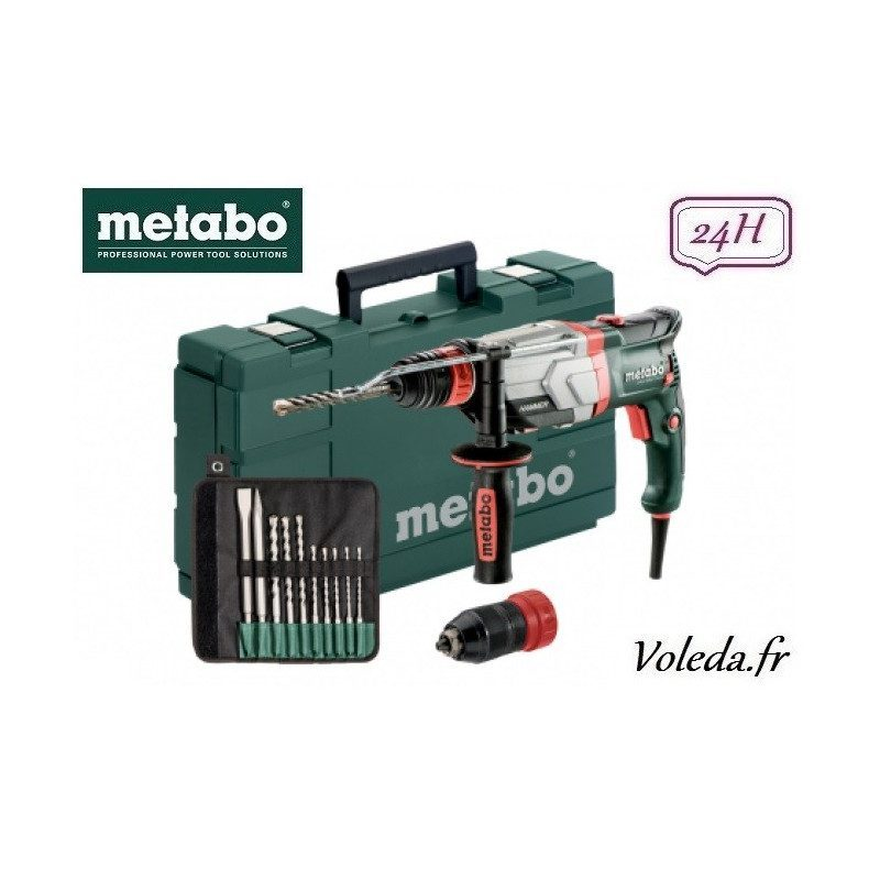 Perforateur burineur Metabo UHEV 2860-2 Quick Set