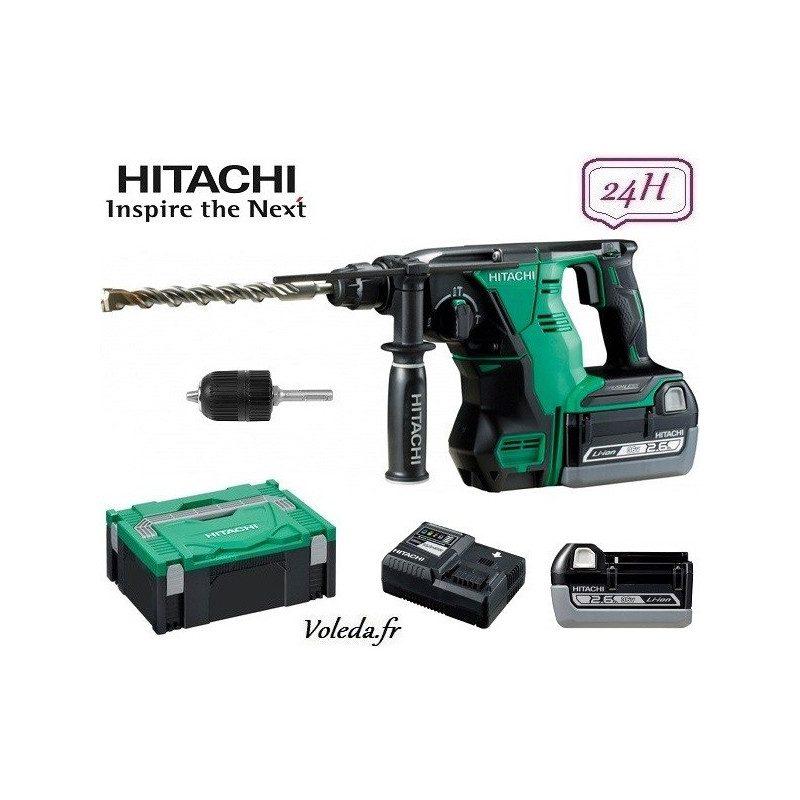 Perforateur burineur SDS Plus Hitachi DH36DBL - 36 V 2.6 Ah Li-ion