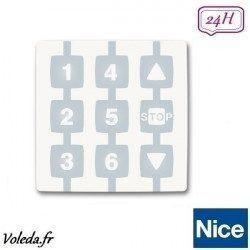 Emetteur NiceWay 6 canaux WM006G