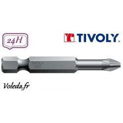 Embout de vissage Tivoly Torsion Philips 50mm N1