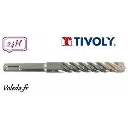 Foret béton 4 taillants Tivoly Technic Master 4 - Ø8 460mm