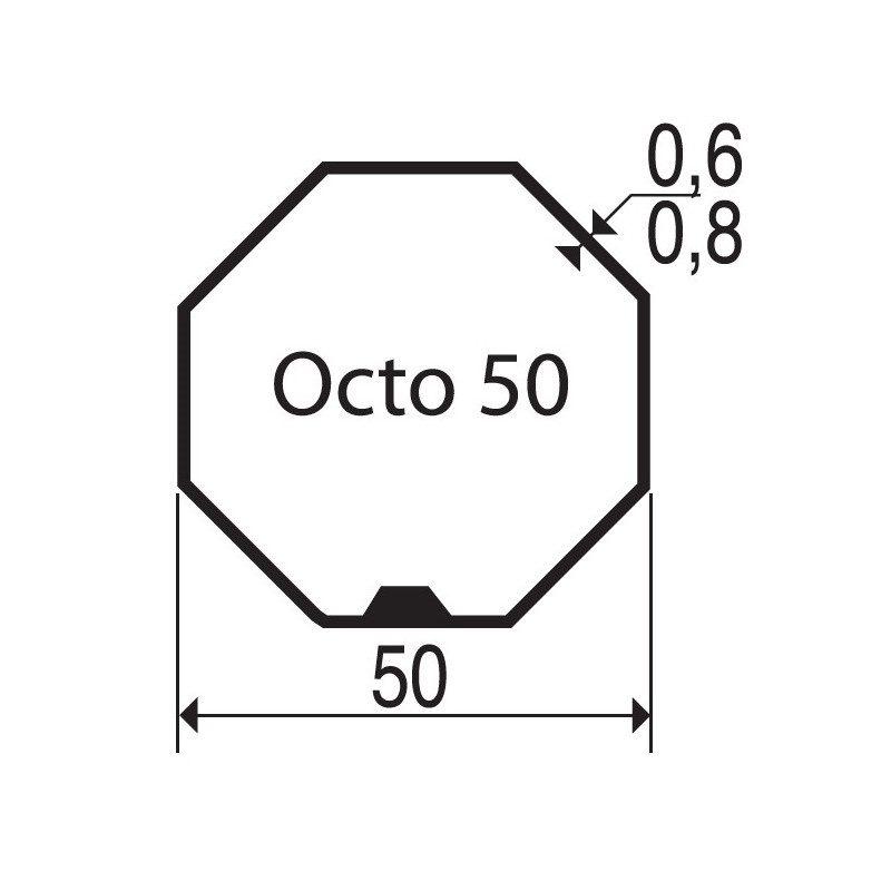Bagues moteur volet roulant Gaposa XQ50 - Octogonal 50