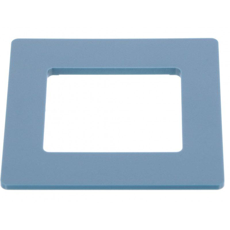 Cadre pour emetteur mural Simu HZ - Bleu minéral
