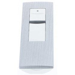 Cadre pour télécommande Simu Hz - Alu brossé
