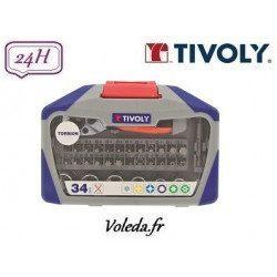 34 pièces de vissage Torsion Tivoly