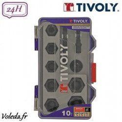 10 pièces douilles d'extraction Tivoly