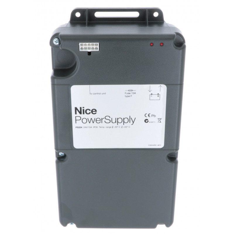 Batterie de secours pour motorisation Nice PS224