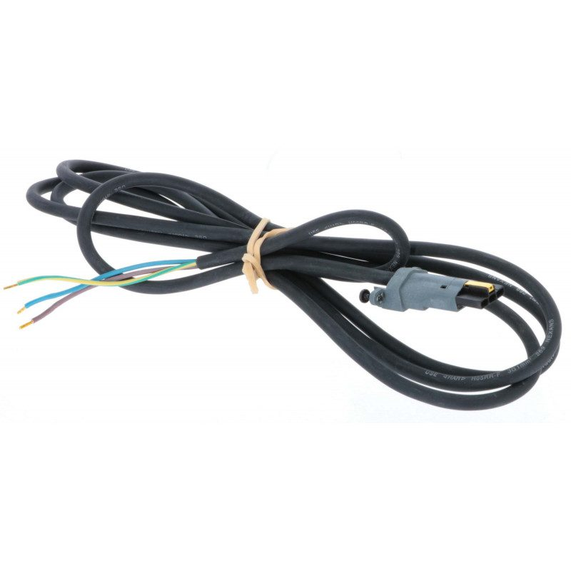 Cable moteur Somfy H05RRF noir 2.5m