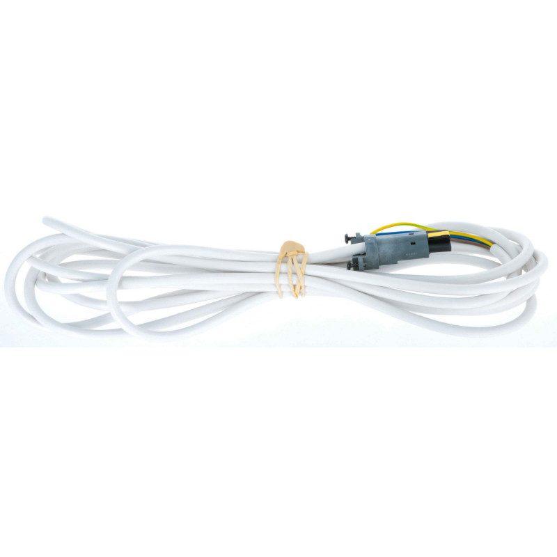 Cable moteur Somfy radio VVF RTS/IO 5 mètres blanc