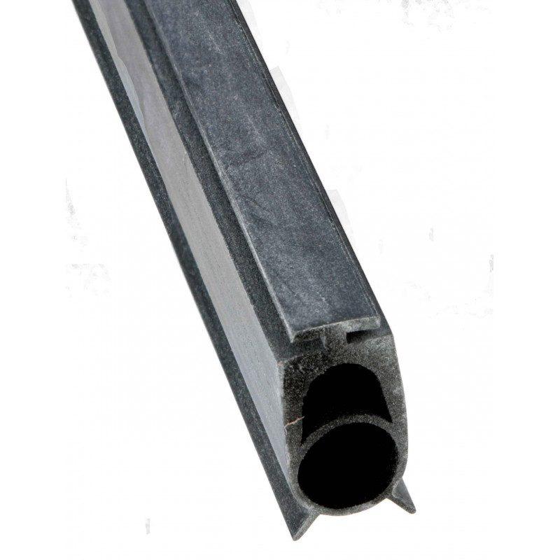 Joint lame finale 11mm pour porte de garage avec barre palpeuse