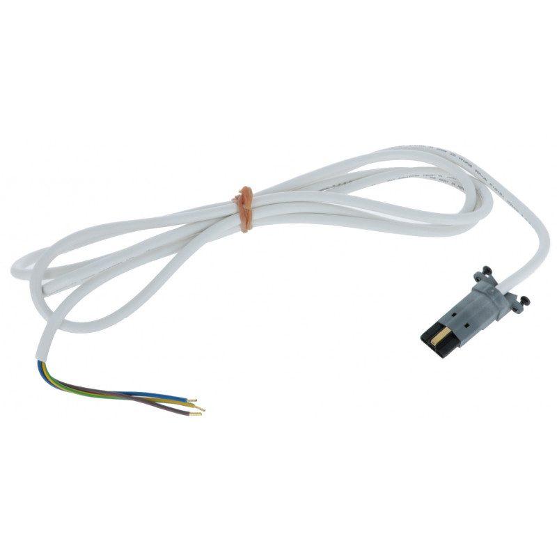 Cable moteur Somfy radio 50 60 VVF Blanc 2.5 m