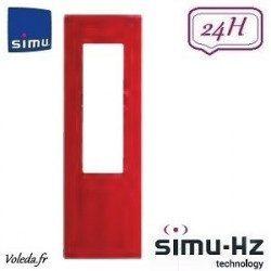 Cadre pour télécommande Simu Hz - Rouge framboise