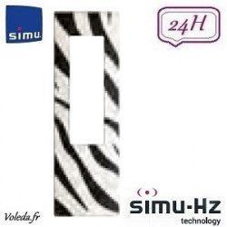 Cadre pour télécommande Simu Hz - Zèbre