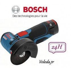 Meuleuse disqueuse Bosch GWS 12V-76 + 2 x 2.5Ah