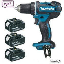 Perceuse visseuse Makita 18V Li-Ion 4 Ah - Makita DDF482RM3J