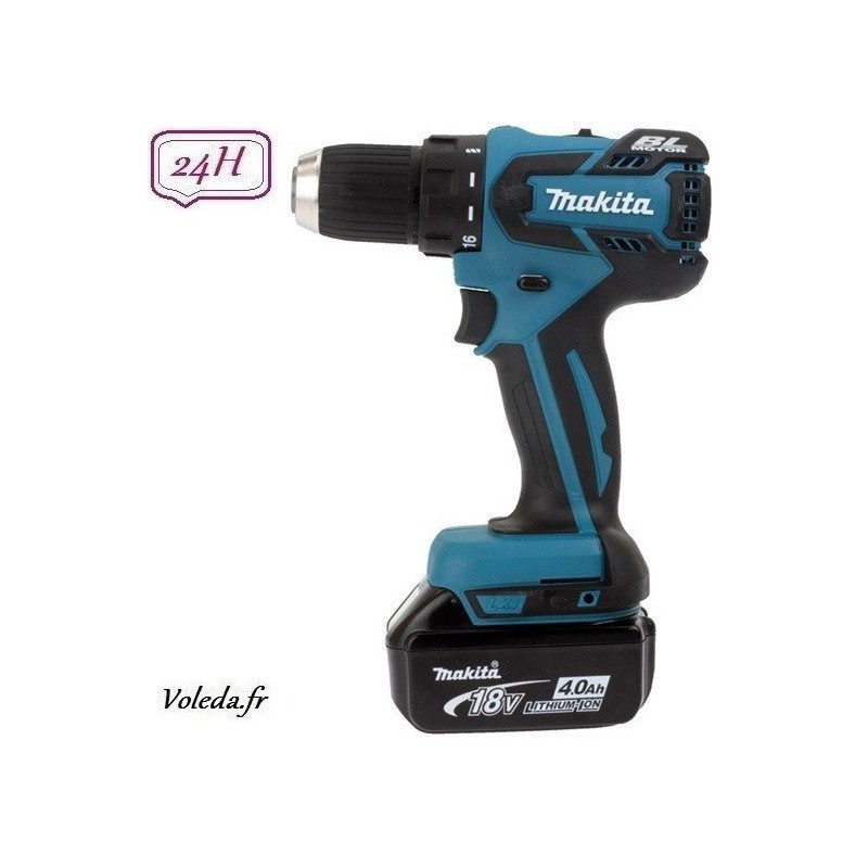 Perceuse visseuse Makita 18V Li-Ion 4 Ah - Makita DDF459RMJ
