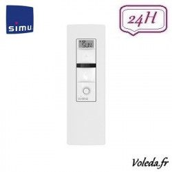 Telecommande Simu Sun Hz 1 canal de capteur vent/soleil pour store