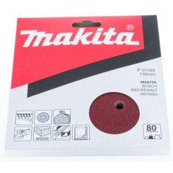 Disques abrasifs Makita P-37493 150 mm 6 trous