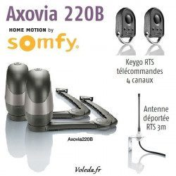 Moteur Somfy Axovia 220B Pack standard