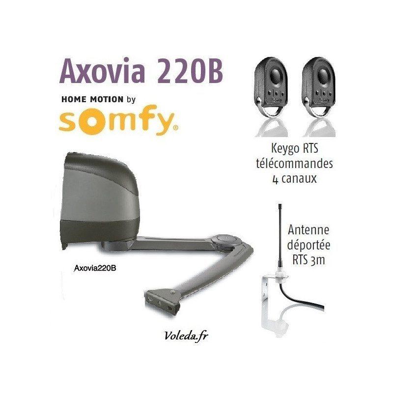 Moteur Somfy Axovia 220B Pack 1 vantail