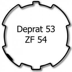 Bagues adaptation moteur Selve ZF54 - Deprat 53