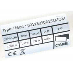 Moteur Came Mondrian M5 - 30/15