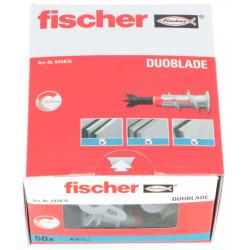 Chevilles autoforeuses Fischer DuoBlade - boîte de 50