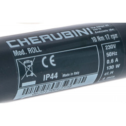 Moteur Cherubini Roll 10 newtons 10/17 volet roulant