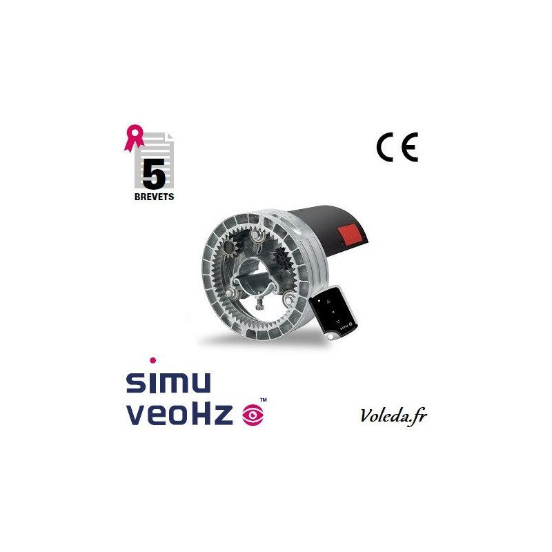 Moteur Simu Central - Centris veoHz XL 140 newtons 60/220