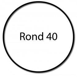 Bagues moteur Cherubini - Rond 40 x 2 - Volet roulant - Store