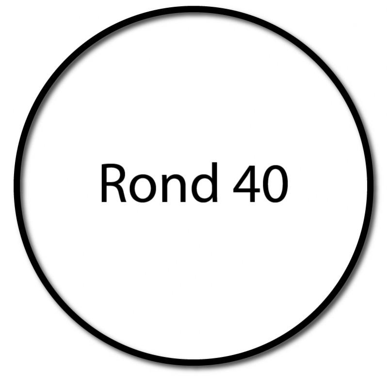 Bague adaptation moteur Nice Neo S - Era S - Rond 40x1,5