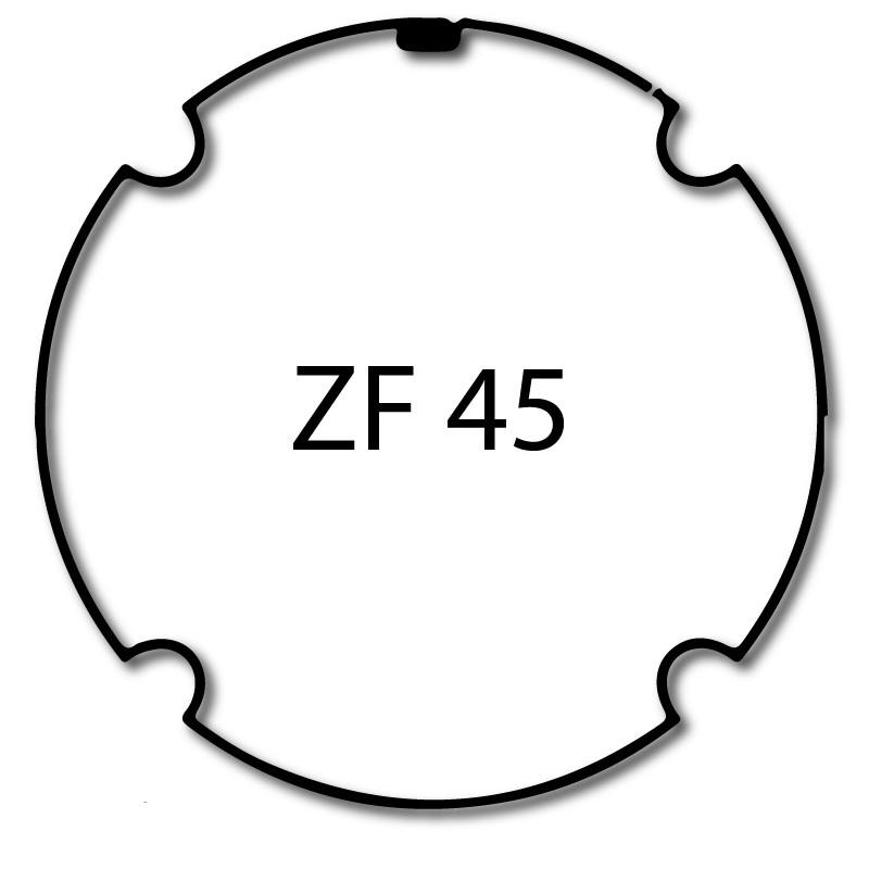 Bague adaptation moteur Nice Neo S - Era S - ZF 45