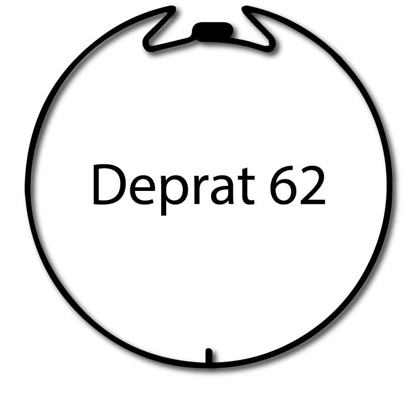 Bagues adaptation moteur Nice Era M et MH - Deprat 62 Welser 63
