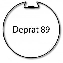 Bagues adaptation moteur Nice Era M et MH - Deprat 89