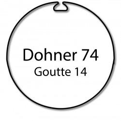 Bagues moteur volet roulant Simu-Somfy T5 Dmi5 LT50 - Dohner 74