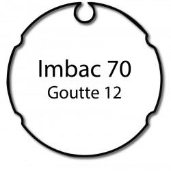 Bagues moteur volet roulant Simu-Somfy LT50 T5 - Imbac 70 Goutte 12