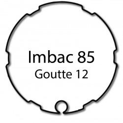 Bague adaptation moteur Somfy LT60 Imbac 85 goutte 12