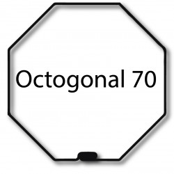Bague adaptation moteur Nice Era L octogonal 70x1