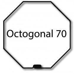 Bagues adaptation moteur Nice Era M et MH - Octogonal 70