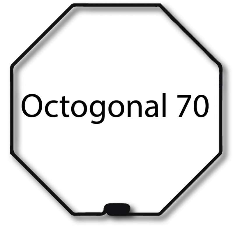 Bague adaptation moteur Nice Era M octogonal 70