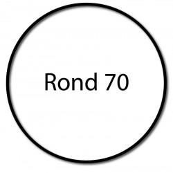 Bagues adaptation moteur Nice Era M et MH - Rond 70 x 1,5