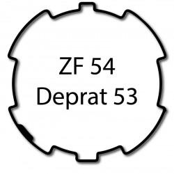 Bagues adaptation moteur Came 45 mm - Rond ZF 54