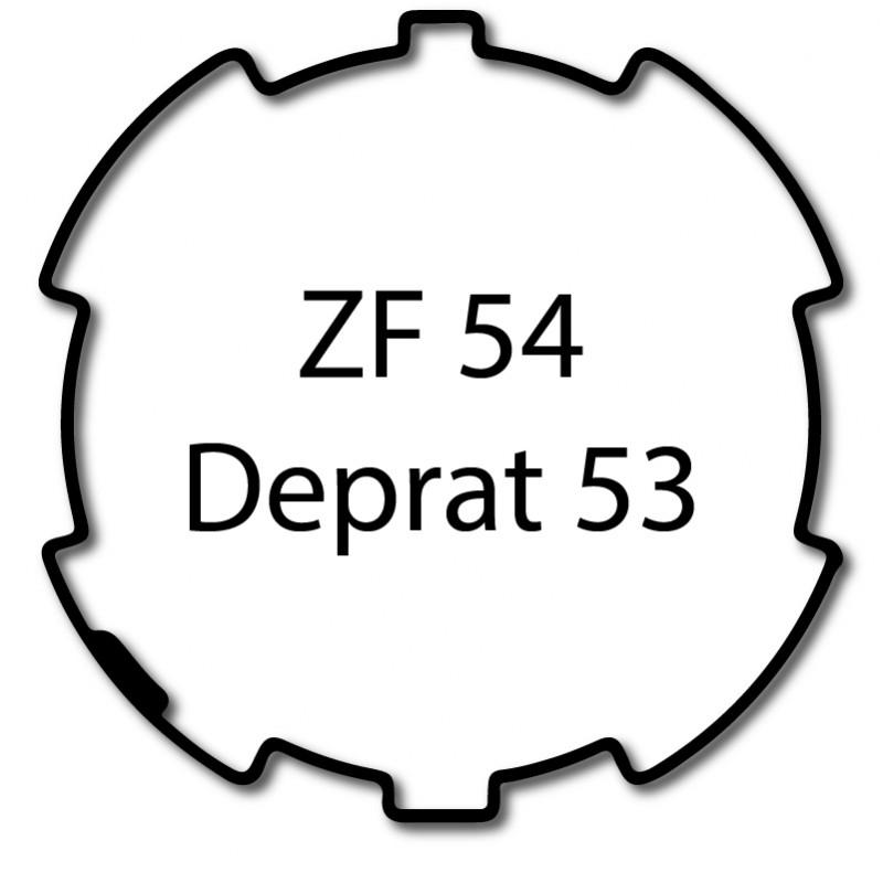 Bague adaptation moteur Deprat ZF 54 - Deprat 53
